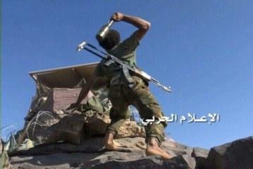 صورة لمقاتل يمني تختصر 9 اشهر من الصمود