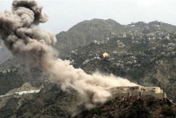 قصف صاروخي ومدفعي سعودي على مناطق سكنية بمحافظة صعدة.