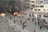 انفجار عنيف يهز مدينة عدن عقب اشتباكات مسلحة