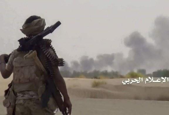 الصاروخ الباليستي قاهر اصاب هدفه وبدقة عالية ..وموالون للعدوان يعترفون (صورة)