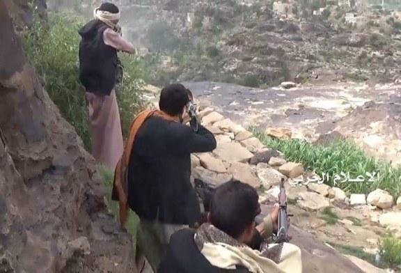 قنص جندي سعودي خلف رقابة الهنجر بعسير