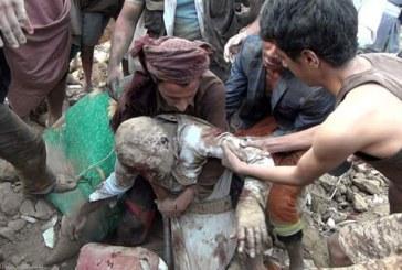 تعز: استشهاد مواطن وإصابة 4أطفال بقصف لمرتزقة العدوان جوار مصنع السمن والصابون