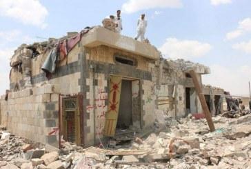الجوف – مرتزقة السعودية يقصفون منازل المواطنين في قرية الحزم
