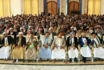 الرئيس الصماد يلتقي مشائخ وحكماء وقيادات محافظة الجوف