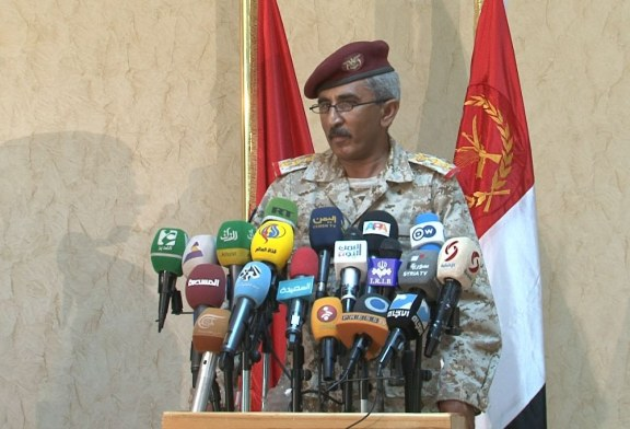 ناطق الجيش اليمني : ردنا على قصف التحالف الاحياء السكانية سيشفي غليل كل يمني