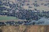 أصابه56 فلسطينياً برصاص قوات الاحتلال الإسرائيلي قرب السياج الفاصل للحدود الشرقية لقطاع غزة.